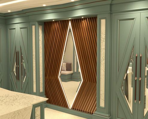 Chris Fell Design Mistry Dressing Room 5