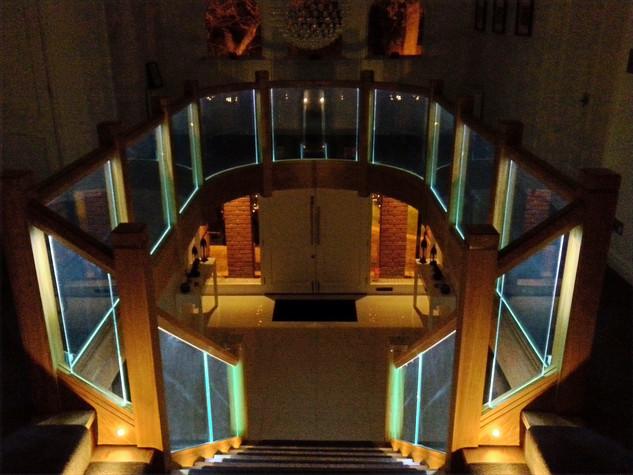 Oak Staircase Overlay with ilumi