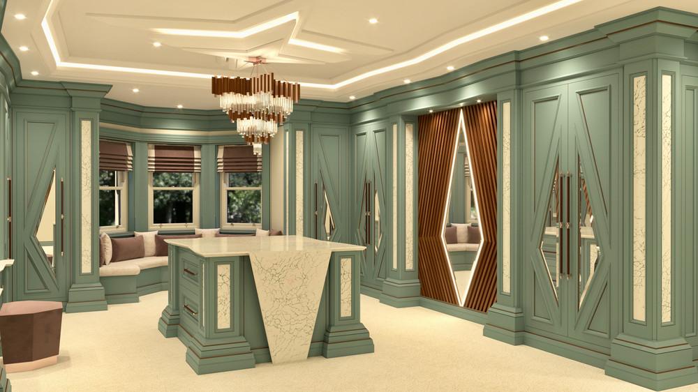 Chris Fell Design Mistry Dressing Room 3