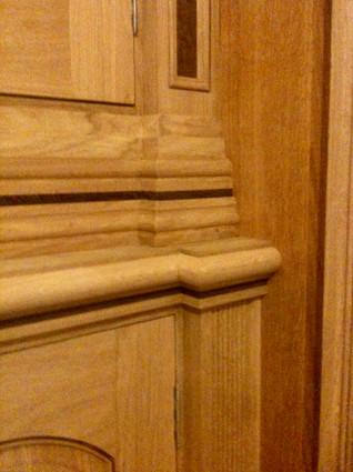 Oak Fitted Cabinet