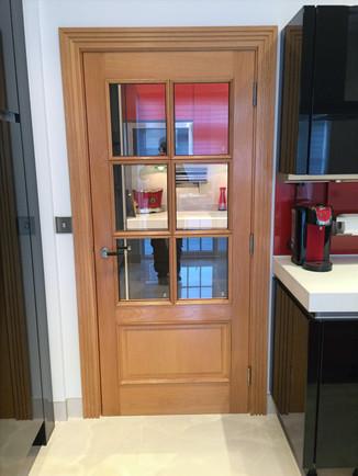 Oak Door and casing