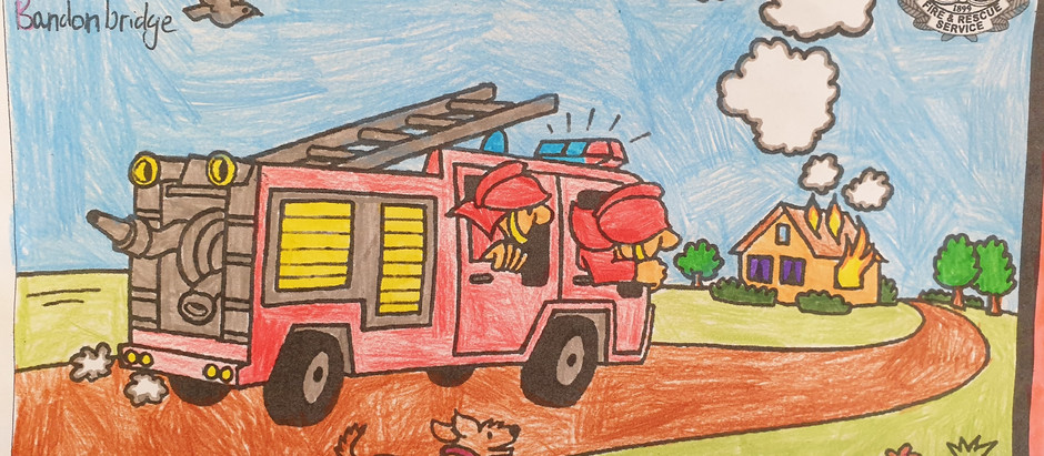 "Art Competition for ""Fire Safety Week"""