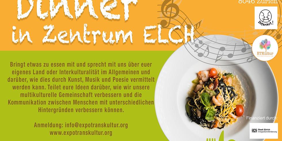 Interkultureller Dinner in Zentrum ELCH!
