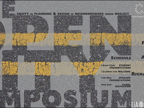 The Open City Symposium at CAPPA