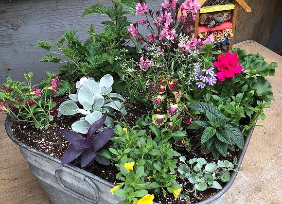Square Washtub planter PL0067