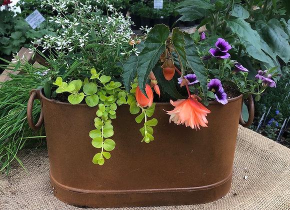 Rustic Oval Planter PL0103