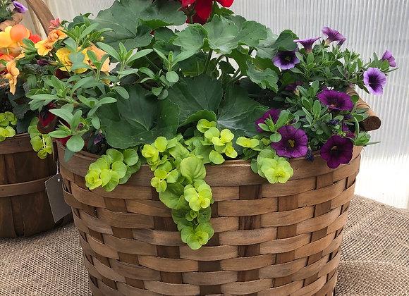 Woven Basket Planter PL0009