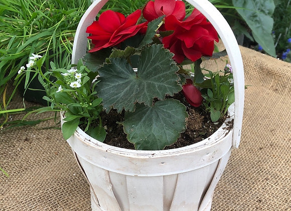 White Basket PL0100