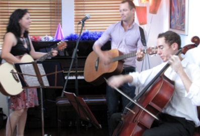 James Madsen, Australian music educator composer performer, Toast trio, wedding music, Sydney