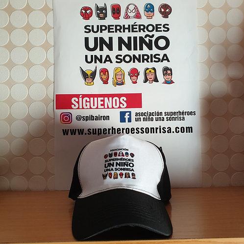 Gorra Negra Logo