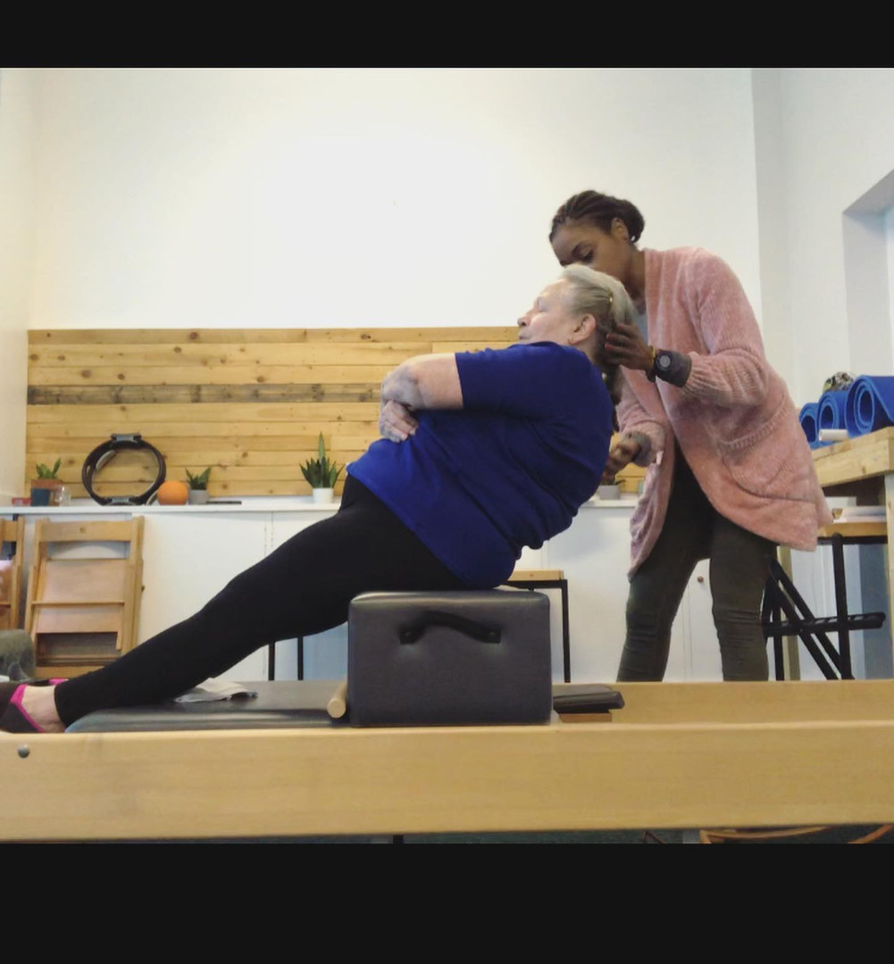 Short Box Series on Pilates Reformer