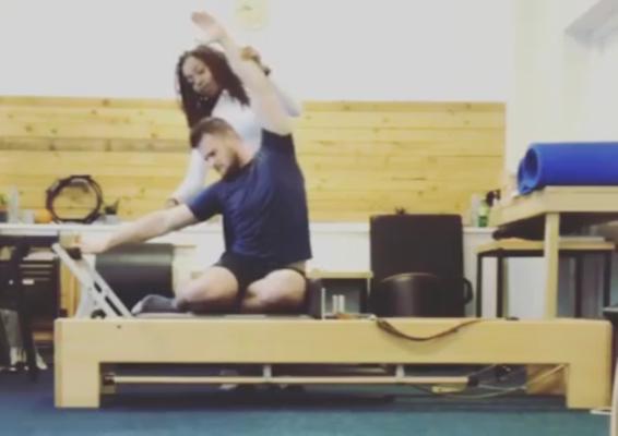 Side Bend on The Pilates Reformer