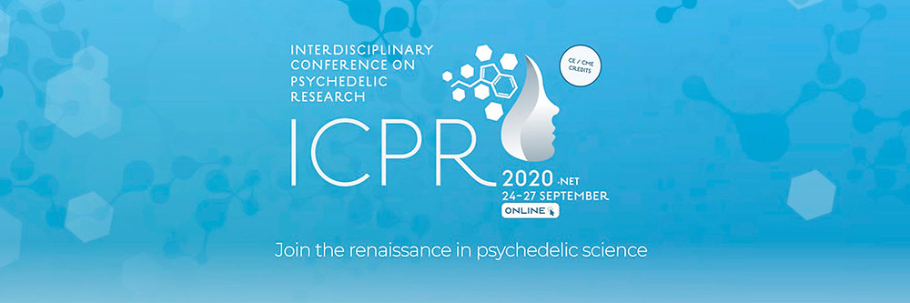Banner do evento Interdisciplinary Conference on Psychedelic Research