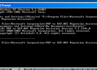 Overview of Microsoft's PHP to ASP.NET Migration Tool