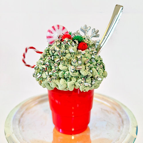 Milkshake/Sundae Ornament