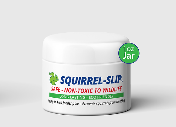 Squirrel-Slip Jar 1oz