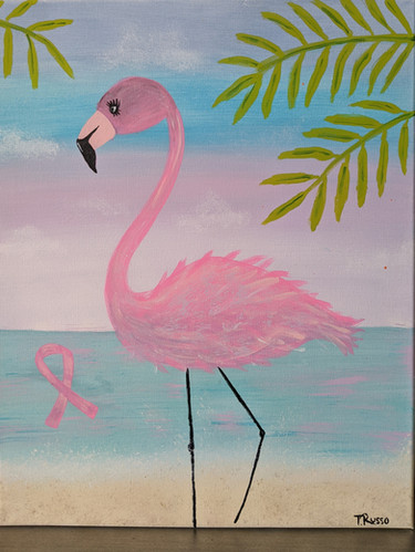 Miss Anne Flamingo