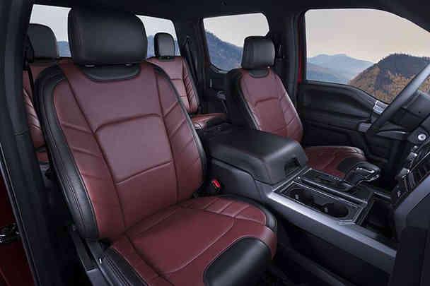 katzkin-ford-f150-red-leather-interior-1
