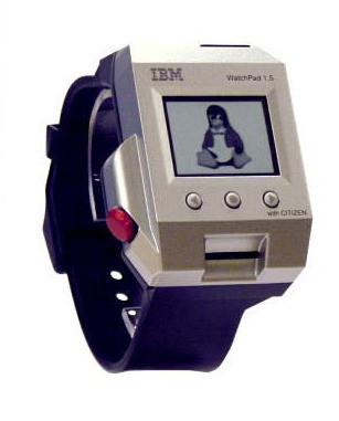 Evolution of Smartwatch - IBM Watchpad (Year: 2001)