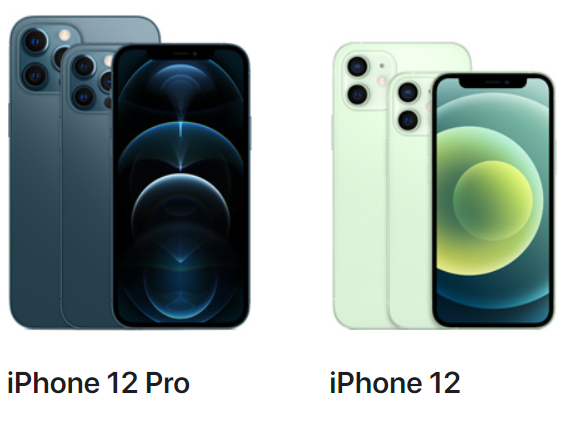iPhone 12 Pro and 12 model
