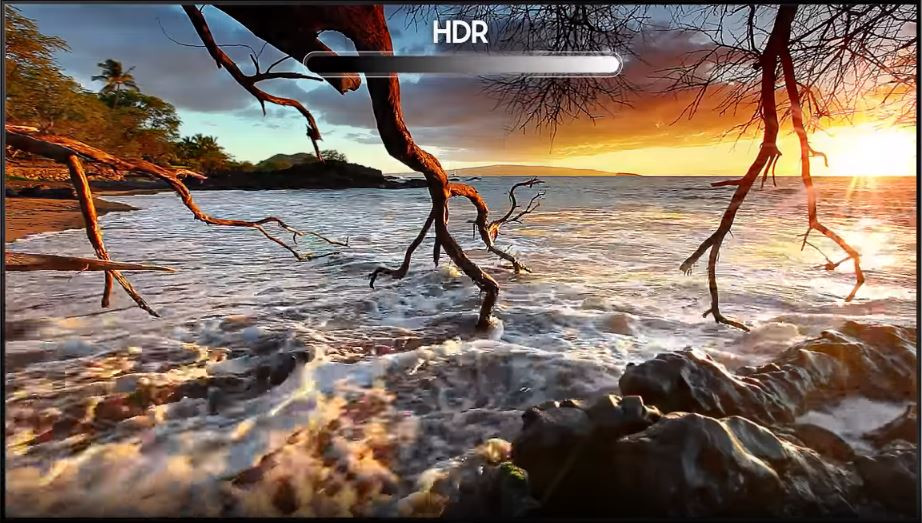 HDR TV Picture