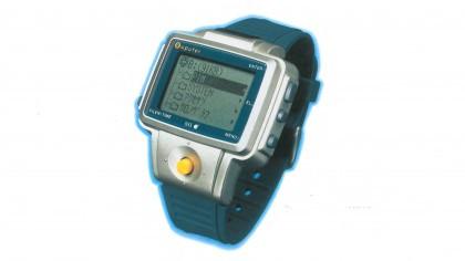 Evolution of smartwatch - Pulser NL C01 (Year: 1982)