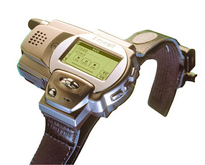 Evolution of Smartwatch - Samsung SPH-WP10 (Year: 1999)