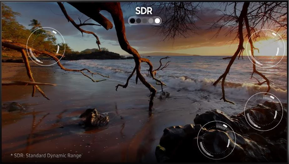SDR TV Picture