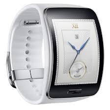 Evolution of Smartwatch - Samsung Gear Fit Smartwatch (Year: 2014)