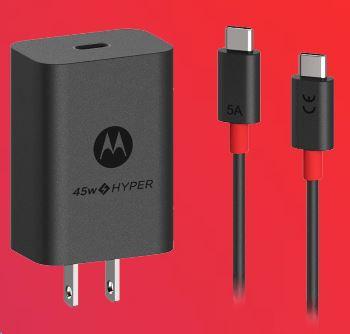Motorola Rapid Charging and TurboPower