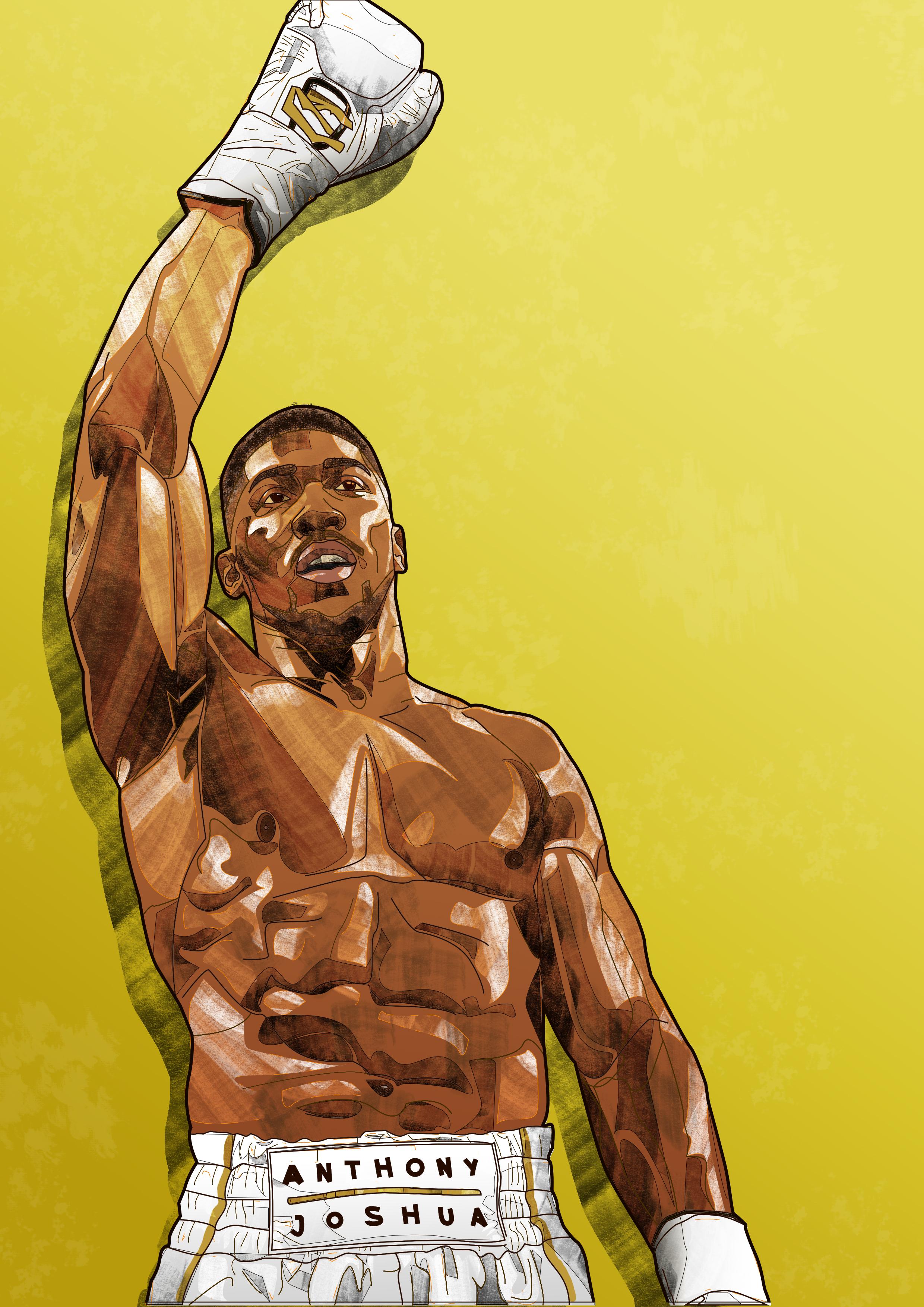 AJ, Champion