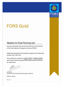 FORS Gold - Expires 09.01.22.