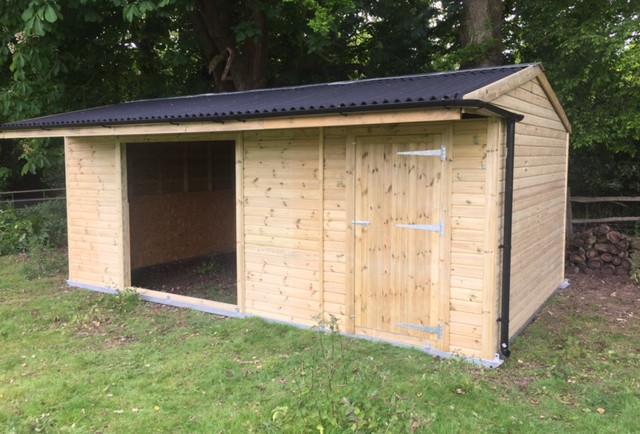 Field Shelter & Tack Room