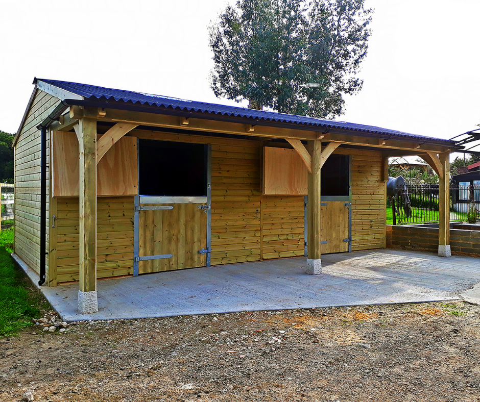 Shiplap Cladded Stables