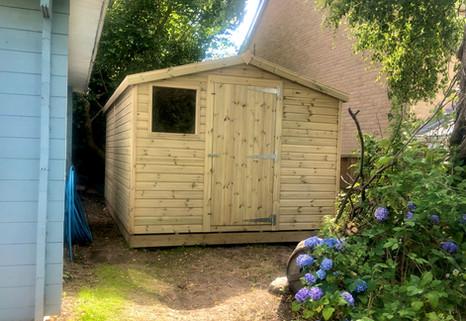 Workshop Single Door
