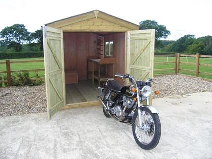 Workshop for motorbikes