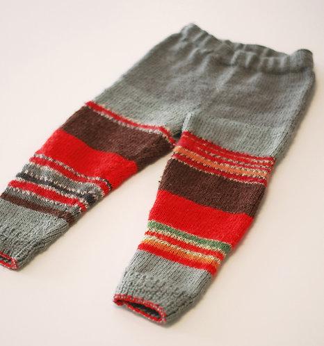 Hand-Knitted Children's Legwear