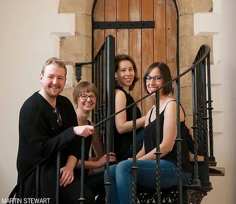 Quartet on Stairs.jpg