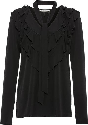 Блузка черная Monari