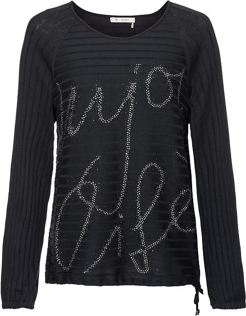 Пуловер черный Monari