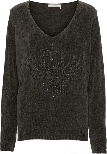 Пуловер коричневый Monari