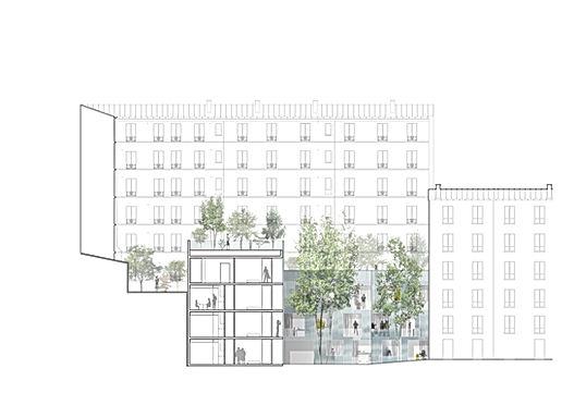 12 logements, rue Ramey- Paris 18
