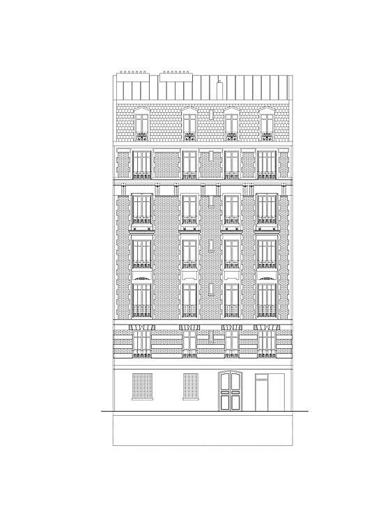 Réhabilitation de 16 Logements - rue de Fécamp - Paris 12