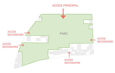 Aménagement du parc des Lilas - 93