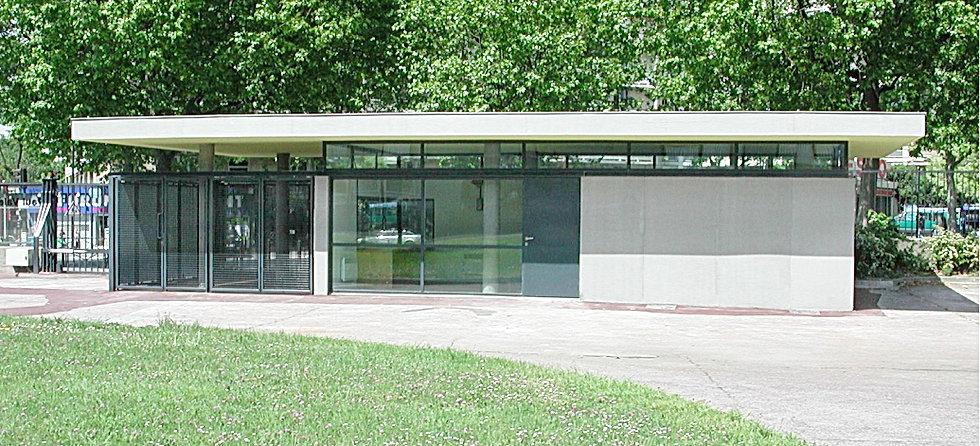 Loge du Lycée Paul Valéry - Paris 12
