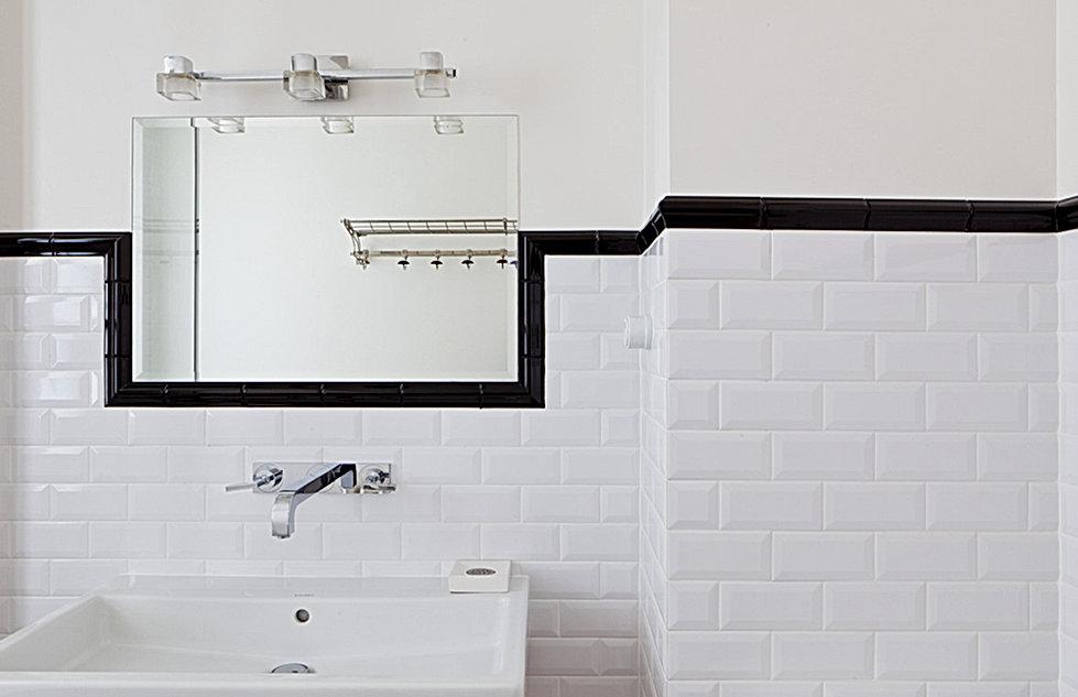 salle de bain métro