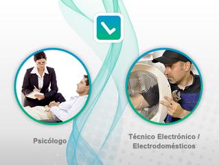 ¡Nuevas Categorías en Listoco! Bienvenidos Psicólogos y Técnicos Electrónicos.