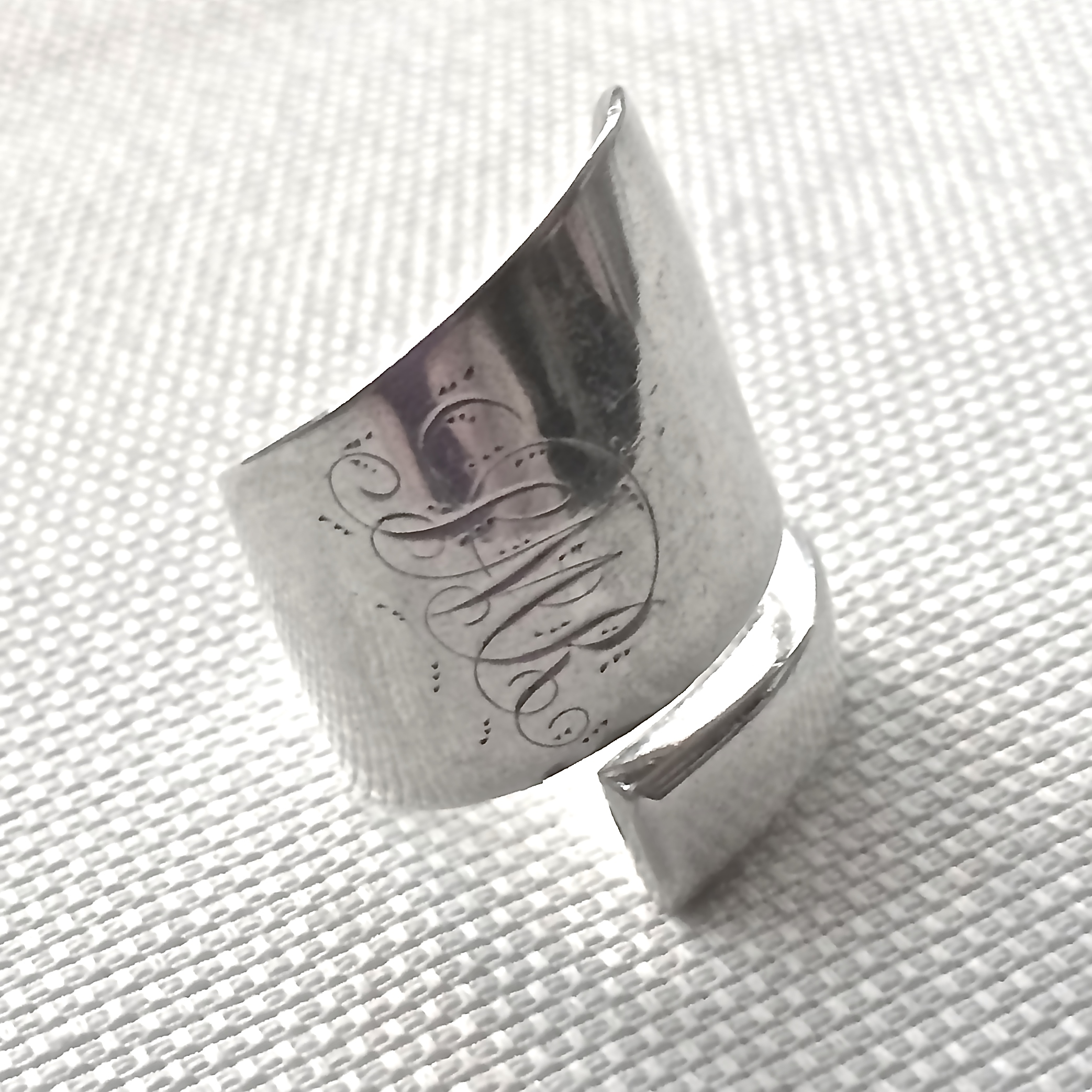 Chunky wrap ring©