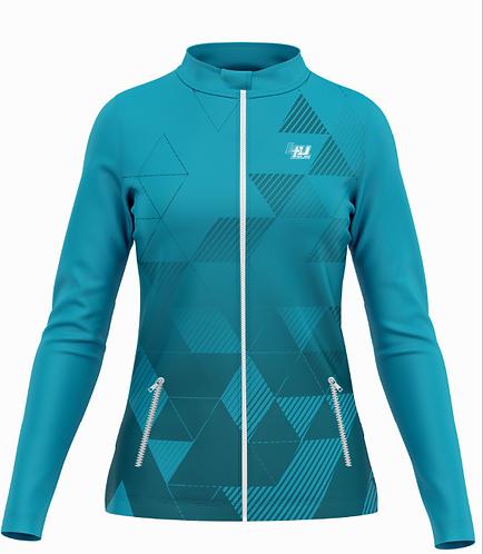 Veste Training Windbreak - Coupe-vent bi-matière - Femme