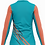 Thumbnail: T-shirt manches longues / zip - FEMME